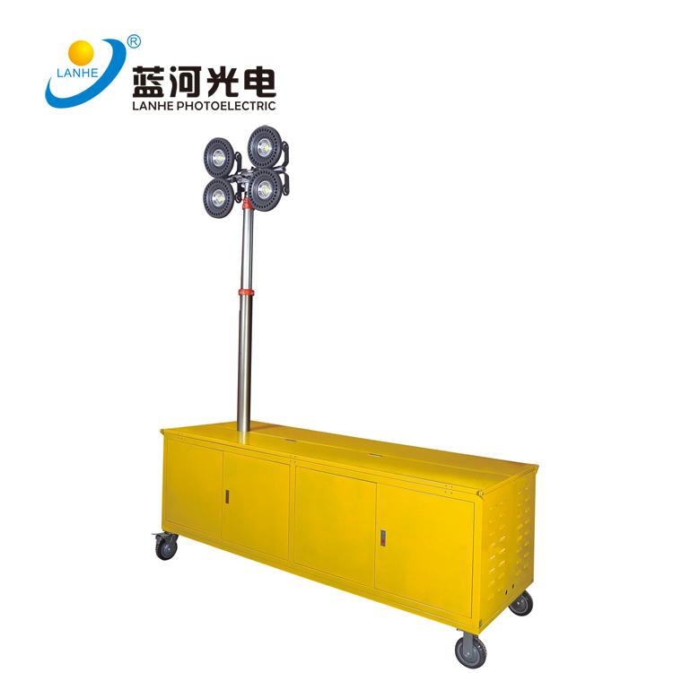 LED移動救援升降發電式投光燈-LH-YCDS600W04