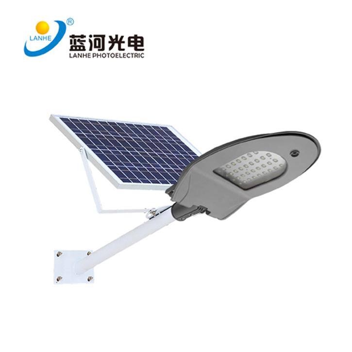 LED鸭舌太阳能路灯-LHD-TYN30YS