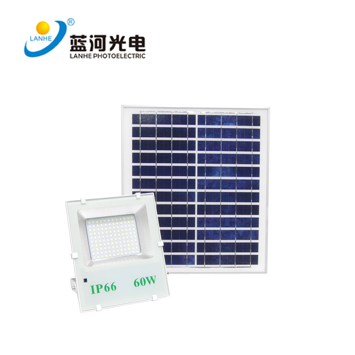 太阳能投光灯  LHD-TYN60TGD
