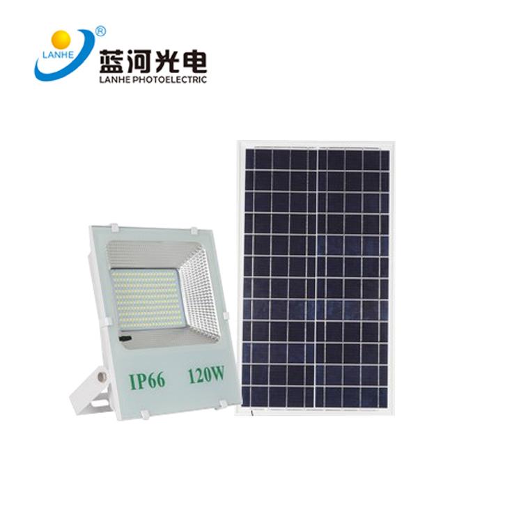太阳能投光灯  LHD-TYN120TGD 图